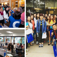 Welcome Students from 28 Countries in International Student Orientation