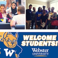 Webster Hosts International Student Orientation for Spring 2