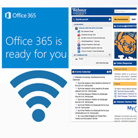 Building off the migration to Office 365, this summer students, faculty and staff will begin to see advances in email, the Connections portal and guest wi-fi access.