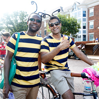 Bee-autiful: University in Webster Groves Community Days July 4 Parade