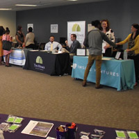 Webster connected 12 companies with more than 70 job-seekers in the Kansas City area.