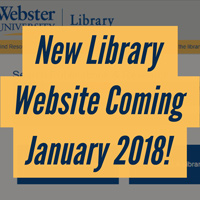 New Library Website Coming Jan. 2018