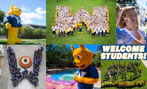 New Student Orientation and Welcome Week activities across the globe of Webster campuses