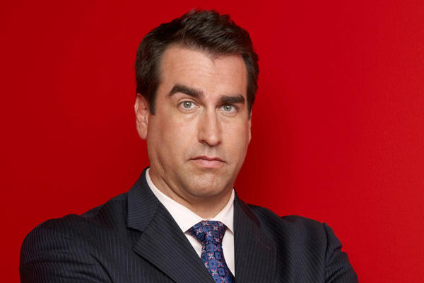 Comedian and actor Rob Riggle