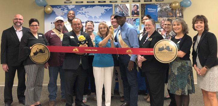 San Antonio Rededication with the Chamber of Commerce