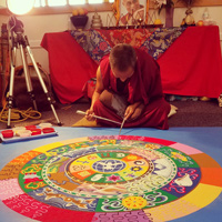 Video: Buddhist monks' sand mandala at Webster