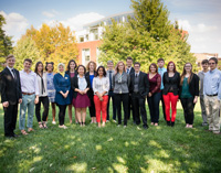Student Government Association leaders in Fall 2016