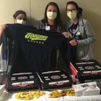 Soccer Teams Provide Free Lunch to Area Nurses