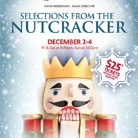 Discount Student/Staff Tickets Available for the Nutcracker Performance at the STL Symphony
