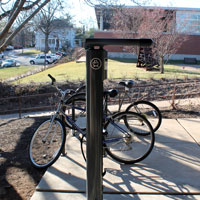 Bike Resource Center Installed on Campus with Sustainability Grant