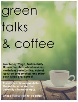 Green Talks and Coffee Thursdays
