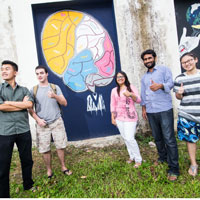 Students Workshop 'Politics of Street Art' in Thailand