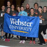 Snapshots: Students, staff, faculty in Vienna Night Run
