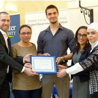 Vienna Honors Leaders, Organizations in Student Life Awards