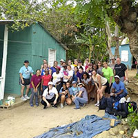 Volleyball Team Visits Dominican Republic During Spring Break