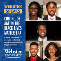 Webster Speaks: Coming of Age in the Black Lives Matter Era