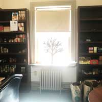 The WILLOW Food Pantry in Webster Hall
