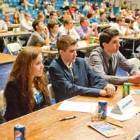 Webster Hosts 15th Annual WorldQuest Competition for High School Students