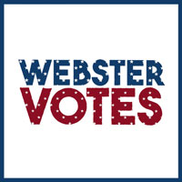 Webster Votes supports efforts to engage students in democracy and make voting accessible.
