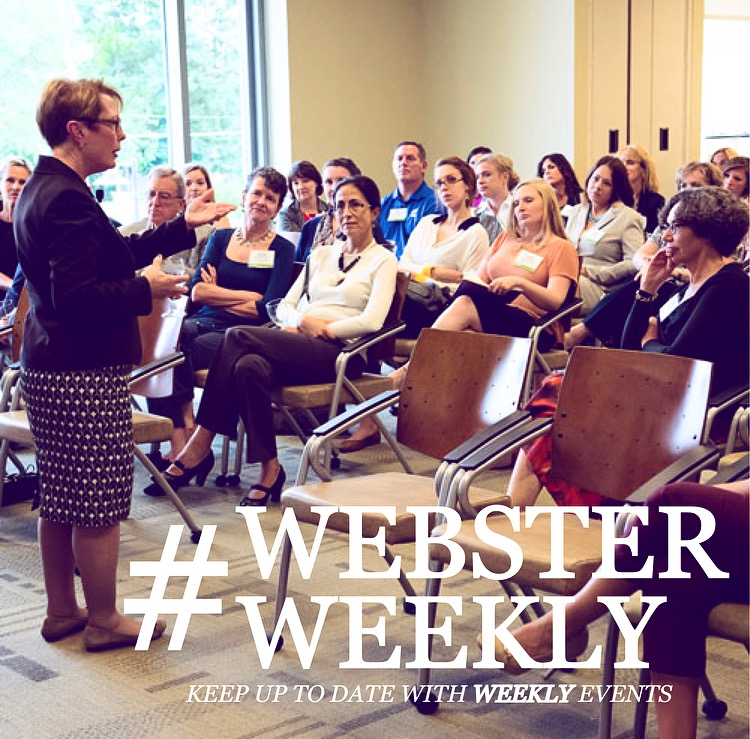 Plan Your Webster Week (Nov. 2-8)