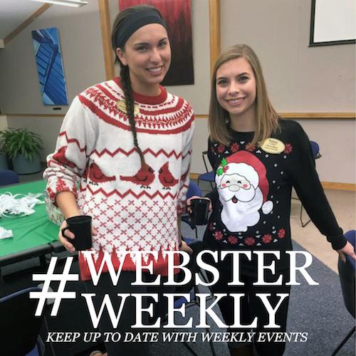 Plan Your Webster Week (Nov. 30-Dec. 6)