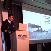 Webster Geneva Honors the 100th Commemoration of the End of World War I
